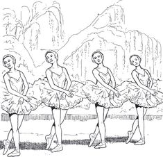 ballet_dancer_14 Adult coloring pages