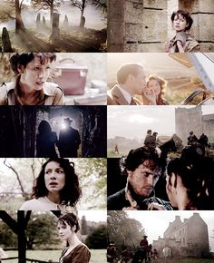 Stills from the first trailer for Outlander on Starz (coming summer 2014)