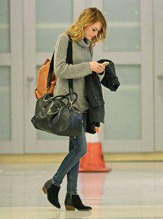Travel Style: Emma Stone. www.topshelfclothes.com