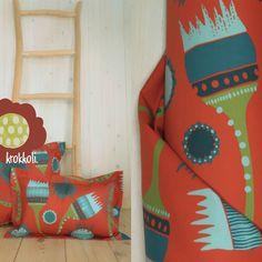 Stoff Design, Shops, Dinosaur Stuffed Animal, Animals, Etsy, Cotton Textile, Floral Patterns, Tents, Animales