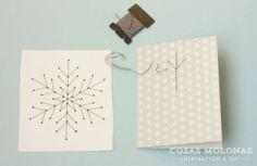 Plantillas para coser estrellas navidad