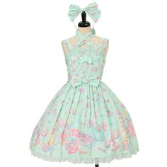 Worldwide shipping available ♪ Angelic Pretty ☆ ·. . · ° ☆ TOY PARADE chest switching scallop JSK + Headband https://www.wunderwelt.jp/en/products/w-16394 IOS application ☆ Alice Holic ☆ release Japanese: https://aliceholic.com/ English: http://en.aliceholic.com/