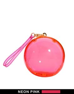 Lulu Guinness Neon Gobstopper Clutch. Totally impractical and ridiculously overpriced, but I adore it!