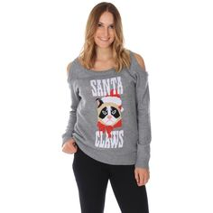 Women s Santa Claws Sweater Ugly Christmas Sweater Canada 93ba80fca