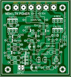 cara pasang volume pada power dengan rangkaian Master Mixer stereo Hobby Electronics, Electronics Projects, Electronics Storage, Sony Led Tv, Diy Amplifier, Circuit Diagram, Circuit Board, Mixer, Layout
