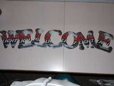 coors light cans... new project... after my coors light bottle cap wind chime!!!