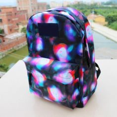 [grlhx120020]Shiny Unique Gradient backpack Bag