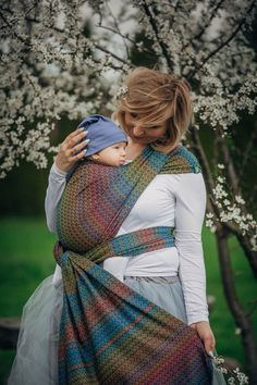 Lenny Lamb Jacquard Baby Wrap 'Little Love Delight' PREORDER. Supposedly feels like a handwoven! Must try this