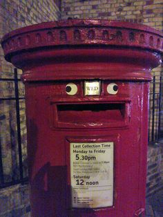 Delighted post box. :D