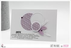 """Aurel : #Tampons et #matrices de coupe #dies #4enSCRAP """"L'#Amitié est précieuse"""" #texte #scrapbooking #DIY #loisirscréatifs #carte #carterie Mini Albums, Tampons Transparents, Invitation, Scrapbooking Diy, Sketches, Card Ideas, Cards, Roses, Happy Moments"""