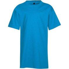 Hanes Boys EcoSmart Short Sleeve T-shirt, Boy's, Size: Medium, Blue