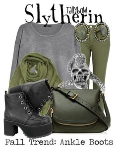 """""""Slytherin"""" by tallybow ❤ liked on Polyvore featuring Violeta by Mango, MANGO, Michael Stars, Tressa, ADORNIA, women's clothing, women's fashion, women, female and woman"""