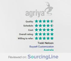 """Another 5 star review from Todd Nelson, Co-owner, Online Wine Seller Startup shares about Agriya's BuySell and it's features   """"I'm feeling confident we have an offshore development team that we can partner with for the future.""""  For more detailed review: https://www.sourcingline.com/review/buy-sell-customisation"""