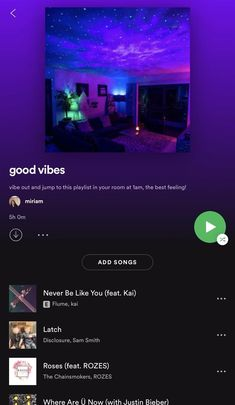 dance in your room // good vibes // spotify playlist Music Mood, Mood Songs, Indie Music, Music Video Song, Music Lyrics, Music Quotes, Music Videos, Dance Playlist, Spotify Playlist