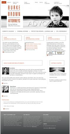 Law Firm #website #design