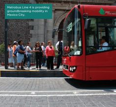 Metrobus line 4 is a showcase project that has improved mobility and public health,  without sacrificing the cultural heritage of mexico City's historical District. The bRT  line has reduced travel times along its route and has improved the connectivity of the  city's existing transportation infrastructure. The reorganization of public transport in  the city center has made it a more pleasant and attractive place for tourists to visit  and residents to call home. #sustainability #greencities