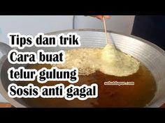 YouTube Telur Gulung Sosis Anti Gagal Sobat dapur Unique Recipes, Asian Recipes, Healthy Recipes, Cooking Time, Cooking Recipes, Cata, Kfc, Dessert Recipes, Desserts