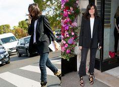 aw17 10 formas vaqueros negros blazer Diez formas de llevar... jeans negros