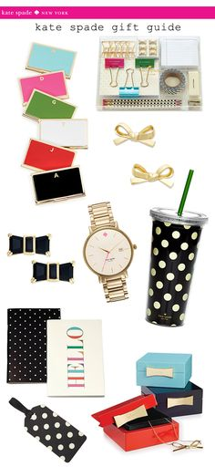 kate spade gift guide