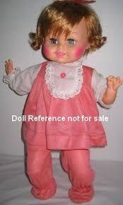 Image result for vintage baby dolls 1970's