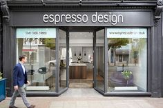 Andrew has over twenty years experience in the design industry, working with residential and commercial clients. Espresso, Kitchen Showroom, Beautiful Space, Storage Solutions, Industrial Design, Kitchen Design, London, Contemporary