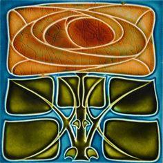 Henry Richards c1906 - RS0181 - Art Nouveau Tiles