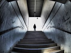 Don't be afraid. It's only stairs - OLYMPUS DIGITAL CAMERA
