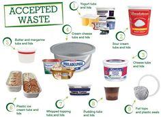 Dairy Tub Brigade Accepted Waste