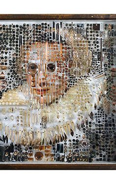 2 | You Won't Believe What This Artist Uses To Recreate Dutch Master Portraiture | Co.Design | business + design