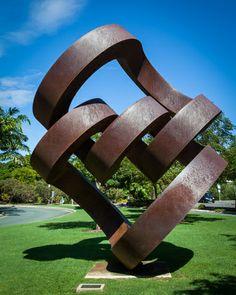 Continuous Division Sculpture at Roma Street Parklands Brisbane Gold Coast, Brisbane River, Gold Coast Australia, Brisbane City, Brisbane Australia, Sunshine State, Sunshine Coast, Cruise Port, Public Art