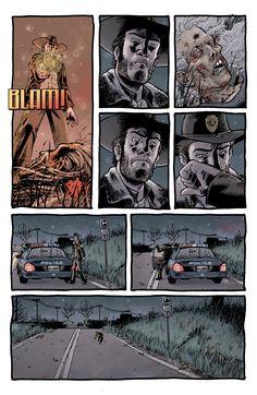 Twd Comic 1 Page 24 Of Walking Dead Book