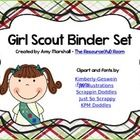 Girl Scout Binder/Calendar Set *Editable