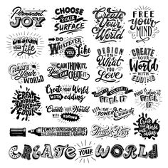 Create your World with edding on Behance
