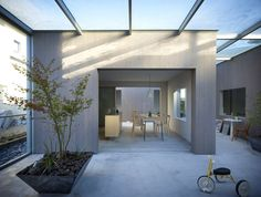 suppose design office: house in buzen, fukuoka Japanese Modern, Japanese House, Japanese Interior, Japanese Design, Japanese Architecture, Interior Architecture, Future House, My House, Patio Interior