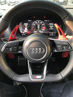 Carbon fiber Extension Shifter Shifting Paddles for Audi New 8V RS3 R8 2017-18