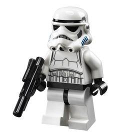 Minifigurine d'un Stormtrooper du set 10236 Ewok Village Ultimate Collector Series