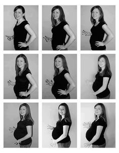 sign language for a pregnancy photo shot with ASL. Great idea! Not ASL though