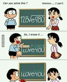 Boy converts Maths problem into Love for girl in General Memes - Memes Best Funny Jokes, Best Funny Videos and Best Funny Memes in the web. The All in One funny jokes, videos and picture packages in the website for the first time. Really Funny Memes, Stupid Funny Memes, Hilarious, Memes Humor, Humor Quotes, Cute Love, My Love, Image Fun, Pick Up Lines