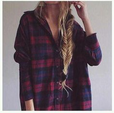 Image via We Heart It https://weheartit.com/entry/162808996/via/29138069 #braid #fashion #fit #grunge #hair #indie #longhair #outfit #style #vintage #softgrunge