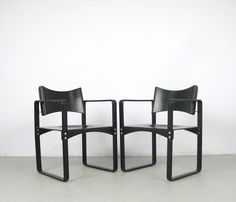 AreaNeo | Verner Panton, pair of plywood chairs for Thonet model 270F