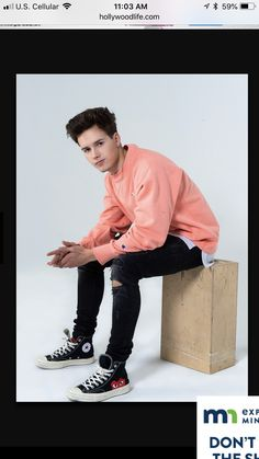 Cutie Boy Band Abc, Boy Bands, Michael Connor, Man Band, Zach Herron, Real Life, Rapper, Bomber Jacket, Prom