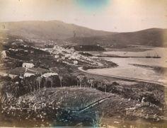 Dunedin from Maitland Street 1860 Dunedin New Zealand, Long Gone, Back In Time, Genealogy, Old Photos, City Photo, Memories, History, Street