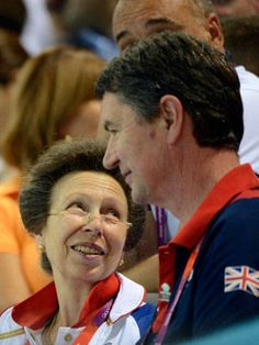 Anne the fan                                                                                                                                  Princess Anne of England attends the 400m individual medley swimming finals.