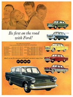 Theres A Ford For Everyone! | Flickr - Photo Sharing!; Vintage car ad.