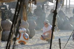 'Star Wars: the Force Awakens': 15 Behind-the-Scenes Photos Fans Saw at the 'Celebration' Panel | BB-8, the film's new droid, is ready to roll | EW.com