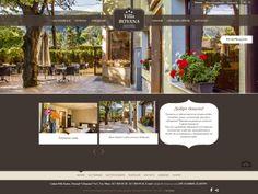 Уеб дизайн на сайт за хотел Вила Бояна   Уют, топлина, специална, приказна атмосфера – това е излъчването на създадения от нас уеб сайт за вила Бояна. Успешно уловихме и предадохме най-характерното за самия хотел. Землистите цветове – топло кафяво и светло бежово като акцент, вдъхват успокоение, уют, стабилност. Desktop Screenshot, Web Design, Poster, Design Web, Posters, Website Designs, Billboard, Site Design