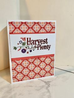 Amy's Creative Pursuits: Two Handmade Fall Cards: One Simple, The Other Complicated