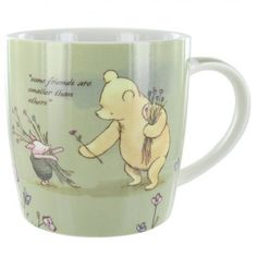 Disney Classic Winnie The Pooh Mug - some friends are smaller than others