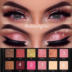 107 Best Huda Rose Gold Images In 2018 Makeup Ideas Beauty Makeup