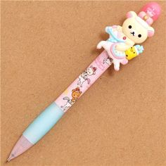 Rilakkuma Wonderland mechanical pencil white bear crown